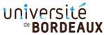 Logo universit  bordeaux
